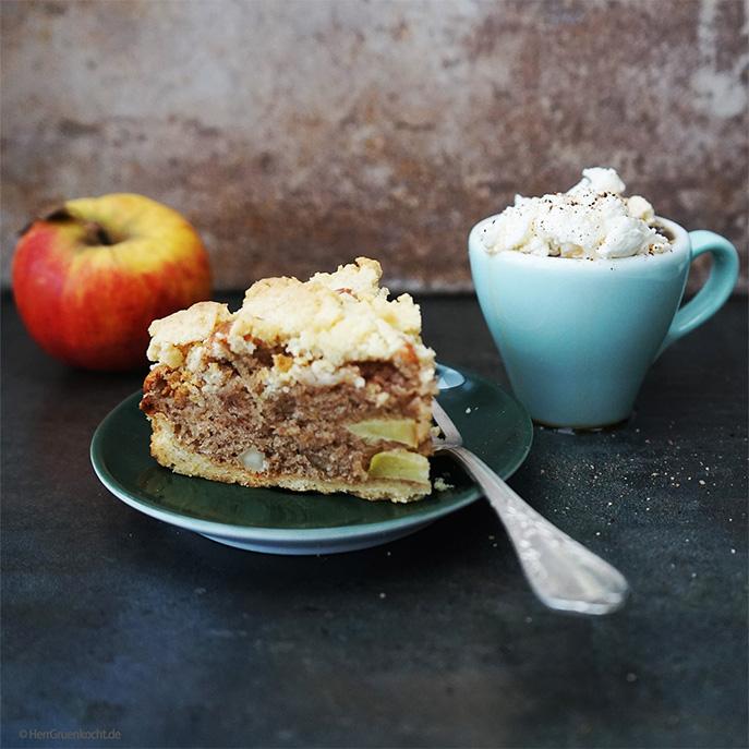 Apfelkuchen »Elbstreusel«