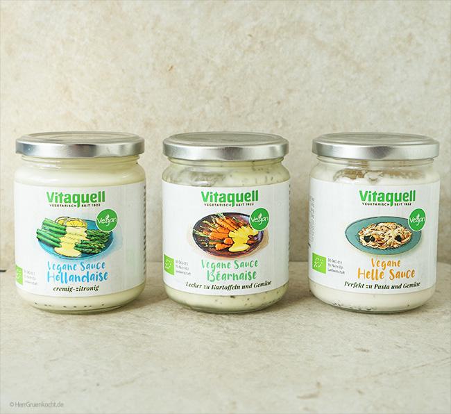 vegane Saucen von Vitaquell