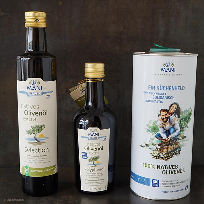 MANI Olivenöl – Braten mit Olivenöl ist gesund und einfach. Und: Ein Gewinnspiel