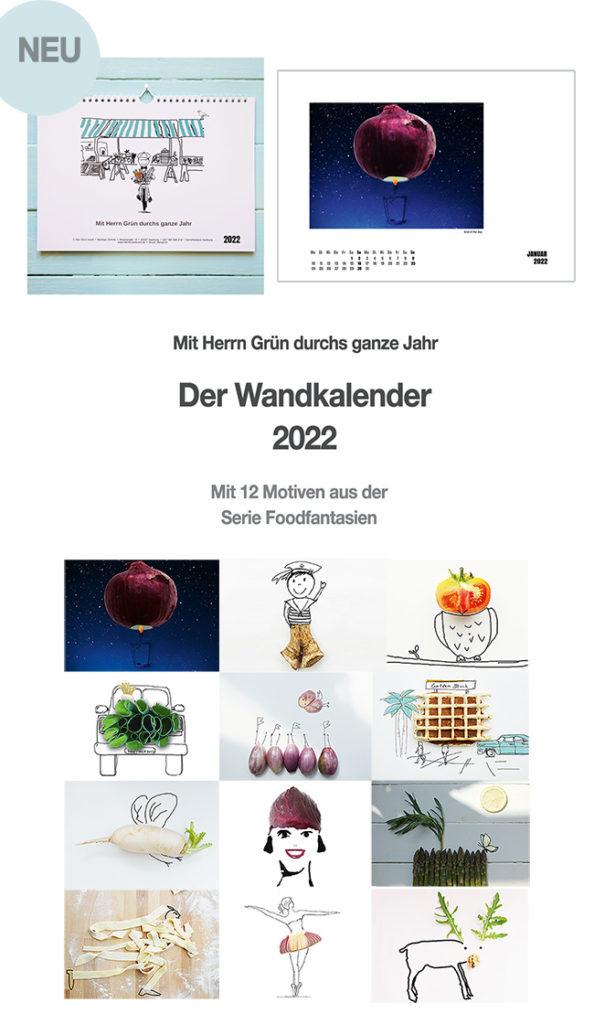 »Der Herr Grün Wandkalender 2022«